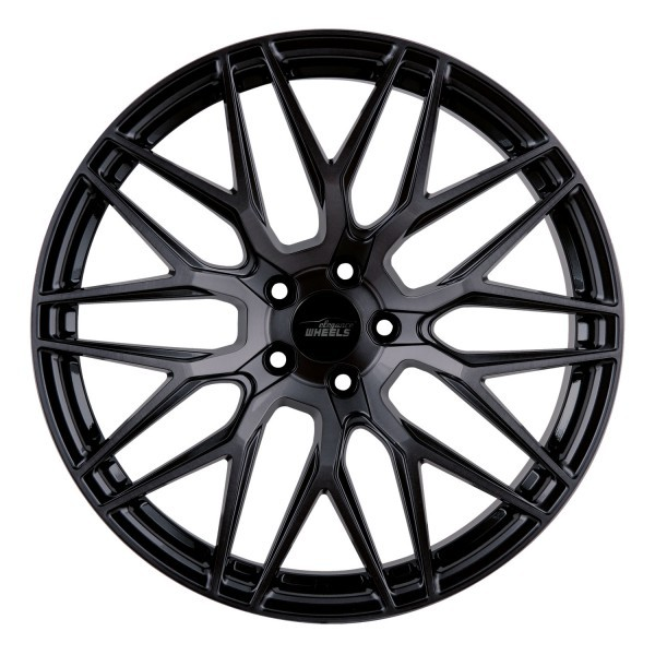 E 3 FF Deep Concave 10,0x20 5x112 ET45 Highgloss Black