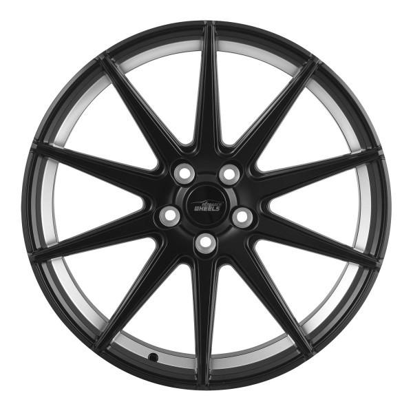 E 1 Concave 9,0x20 5x114,3 ET38 Satin Black Undercut polish