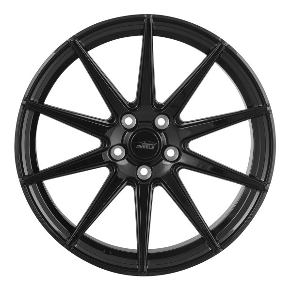 E 1 Concave 9,0x20 5x112 ET40 Highgloss Black split rim