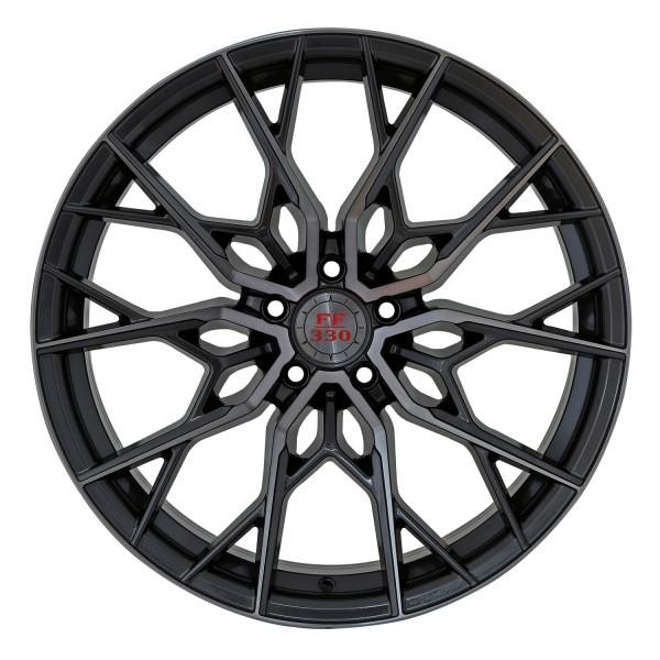 FF 330 Deep Concave 10,0x20 5x120 ET35 Glossy Gunmetal polish