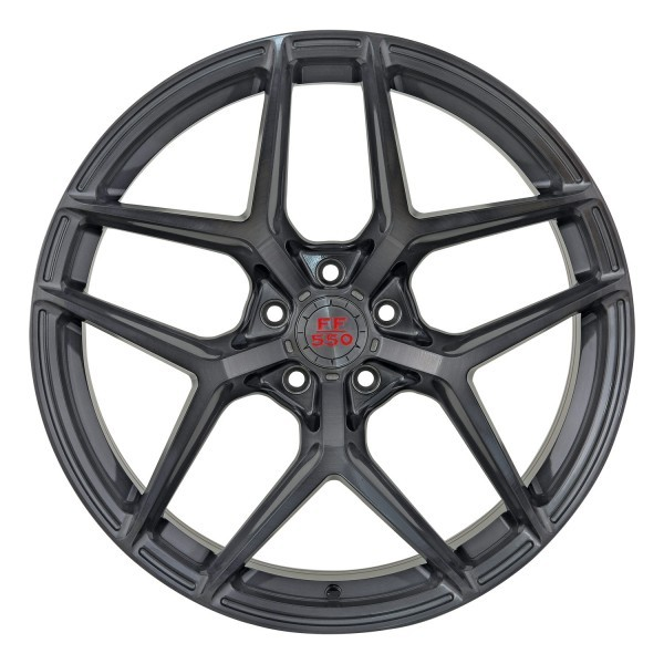 FF 550 Deep Concave 11,0x20 5x114,3 ET47 Liquid Brushed Metal
