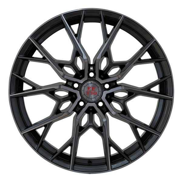 FF 330 Concave 8,5x20 5x112 ET45 Glossy Gunmetal polish